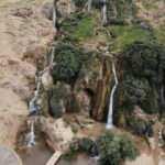 Gaziantep'te kuraklığa boyun eğmeyen şelale
