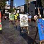 Lösemili çocuklar yararına resim sergisi düzenlendi