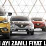 Renault Kasım ayı zamlı yeni fiyat listesi: Sıfır Renault Symbol Megane Clio güncel fiyatları