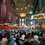 Ayasofya Camii'nden bir müjdeli haber daha! Hepsi sökülüyor