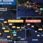 Bakan Karaismailoğlu: 10,25 km'lik Hasdal-Başakşehir kesiminde sona yaklaştık