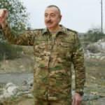 Cumhurbaşkanı Aliyev'den Karabağ'da zafer turu