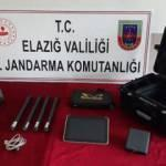 Elazığ'da kaçak kazıya suçüstü: 5 gözaltı
