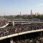 İnsan selini görenler dehşete düştü! 200 bin kişi toplandı...