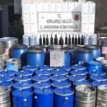 Ölümler ders olmadı! 2 ton kaçak şarap ele geçirildi