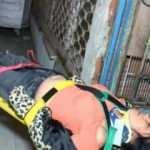 Korona partisinden kaçarken yaralandılar