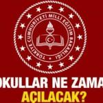 Okulların açılma tarihi: MEB Bakanı Selçuk açıkladı! 2020-2021 Okullar ne zaman açılacak?