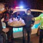Tokat'ta denetim yapan polislere çorba ikramı