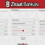 Ziraat Bankası güncel kredi faiz oranları 19 Kasım: İhtiyaç| Taşıt |Konut Kredisi hesaplama