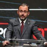 Bakan Kasapoğlu: Türk sporu için var gücümüzle çalışıyoruz