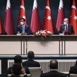 Başkan Erdoğan'dan Katar mesajı