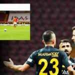 Galatasaray - Kayserispor maçına damga vuran pozisyon!