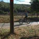 Kendisi küçük yüreği büyük Muhammed'in bisiklet sevgisi