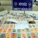Köyceğiz'de 27 kişi kumar oynarken yakalandı