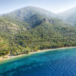 Maviyle yeşilin buluştuğu adres Dilek Yarımadası'na 6 ayda 1 milyon ziyaretçi