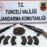 Tunceli'de PKK'nın ini imha edildi