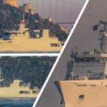 Pakistan savaş gemisi İstanbul Boğazı'ndan geçti! Gemide bomba detay