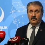 BBP lideri Destici: Türk Silahlı Kuvvetleri üzerinden siyaset yapılmaz