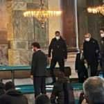 Cumhurbaşkanı Erdoğan Cuma namazı için Ayasofya'da