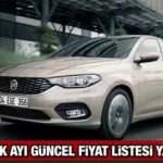 Fiat Aralık ayı güncel fiyat listesi paylaşıldı:  2020 Fiat Egea Doblo 500 güncel fiyat listesi