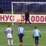 Kalecinin akılalmaz penaltı kurnazlığı!