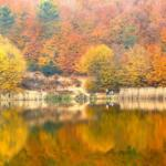 Kurugöl Tabiat Parkı tabiatın en güzel renklerine büründü