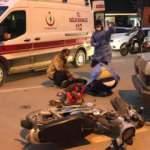 Motosiklete çarpıp kaçtı: 2 yaralı