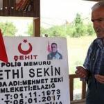 Şehidimiz Fethi Sekin'in babası kalp krizi geçirdi