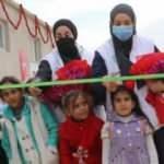 Türkiye tarafından yapılan 100 briket ev, savaş mağdurlarına teslim edildi