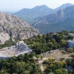 Büyük İskender'in alamadığı yer: Termessos Antik Kenti