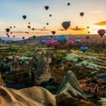 Kapadokya'ya 11 ayda 962 bin 124 ziyaretçi