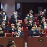 Meclis karıştı, yayın kesildi