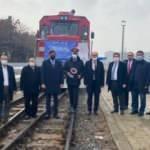 Türkiye'den Çin'e giden ilk İhracat Treni Erzurum'da