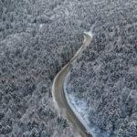 Uludağ'dan nefes kesen kış manzalararı