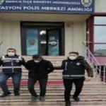 Cami şadırvanındaki muslukları çalan kişi yakalandı