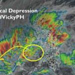 Filipinleri Vicky fırtınası vurdu
