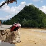 Giresun'da selde kaybolan 2 otomobil, dört ay sonra bulundu...