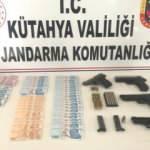 Kütahya'da sahte para operasyonu: 8 gözaltı