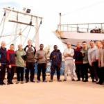 108 gündür Hafter'in tutsağıydılar! 18 balıkçı özgürlüğüne kavuştu