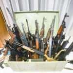 Silahlar ortaya çıktı! Ordu deşifre oldu