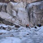 Türkiye'nin en büyük vadi buzulu: Uludoruk Buzulları