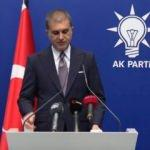 AK Parti Sözcüsü Ömer Çelik'ten MYK sonrası önemli açıklamalar
