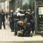 Alman polisinden başörtülü kadına işkence