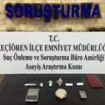 Başkentte uyuşturucu madde alışverişi yapan 6 kişi suçüstü yakalandı