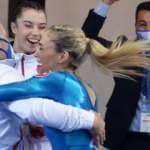 Cimnastikçiler 10 madalya ile tarih yazdı