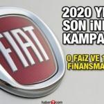 Fiat 0 faiz oranları ve 100 bin TL finansman kampanyası! 2020 sonu indirimleri ve fiyatları