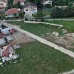 Hazine arazisine yapılan kaçak villalar yıkılıyor