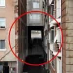 Karadeniz'de bu da görüldü: Altından sokak geçen apartman