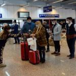 Kış tatili için Palandöken'e gelen yabancı turistler davul zurnayla karşılandı
