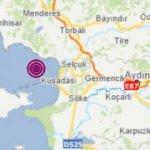 Kuşadası'nda 3.1 büyüklüğünde deprem